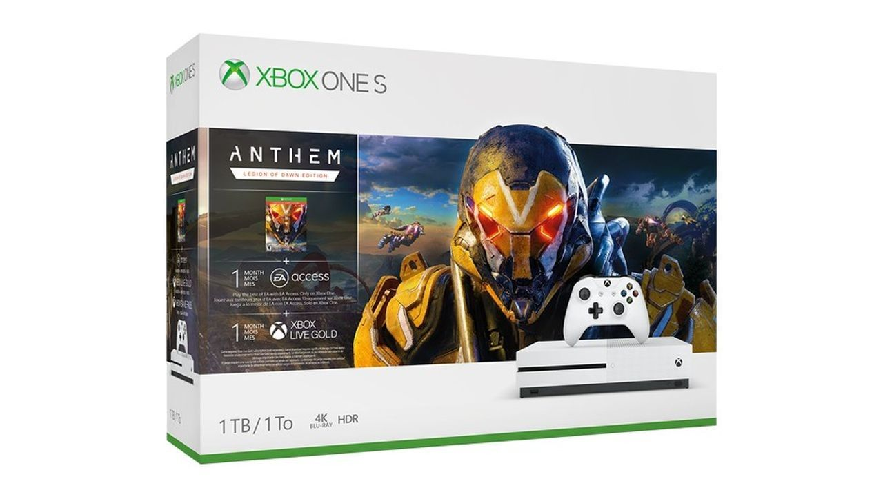 Xbox One S Anthem Bundle (1 TB)