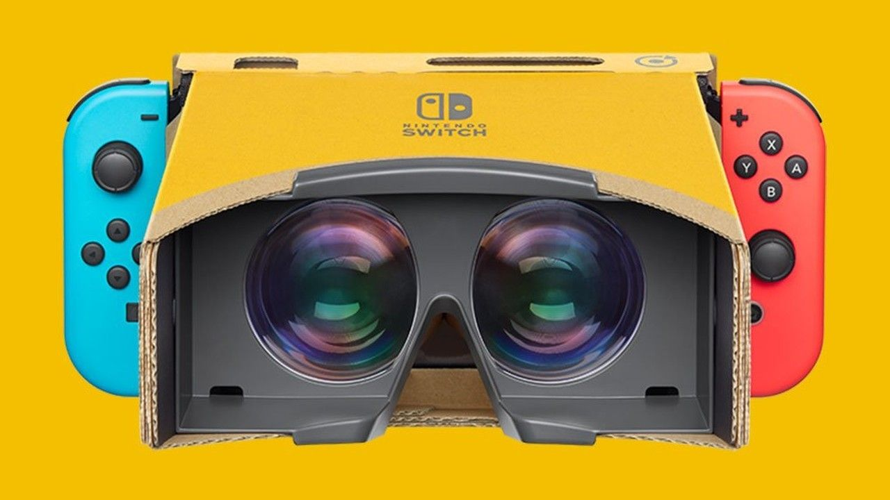 Nintendo Labo wird zur Virtual Reality-Plattform