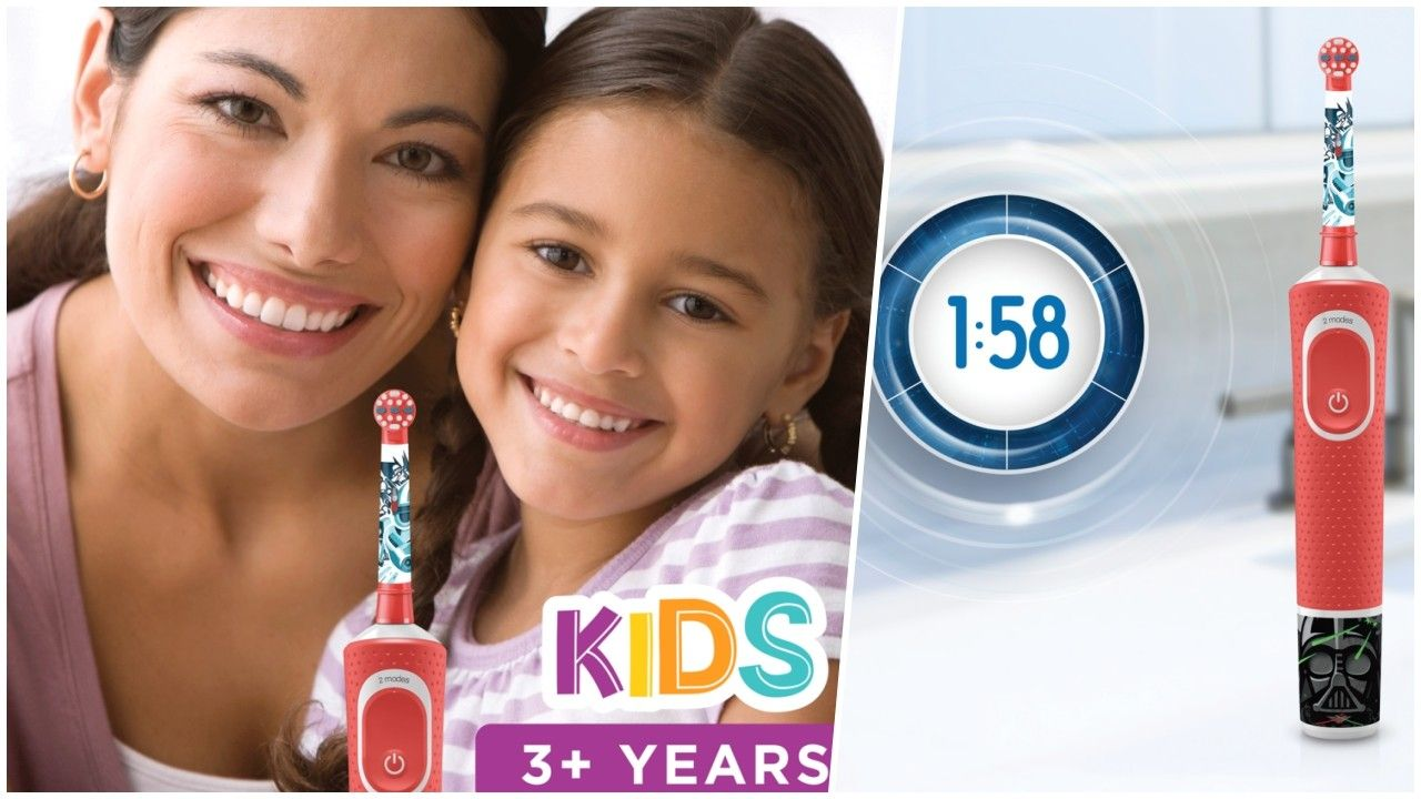 Produkttest: Oral-B 100 Vitality Kids