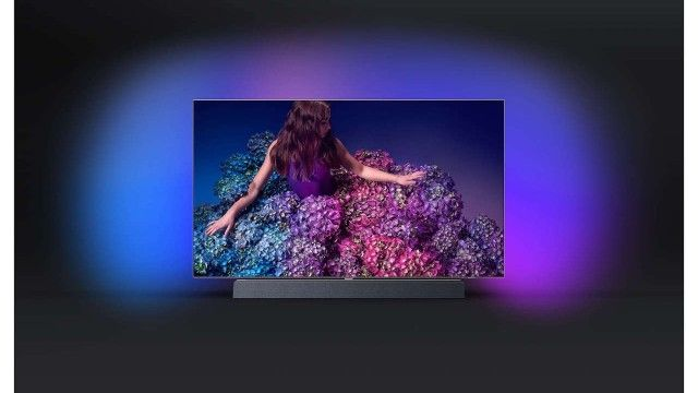 Philips OLED+ 934: Preisgekrönter Philips-TV